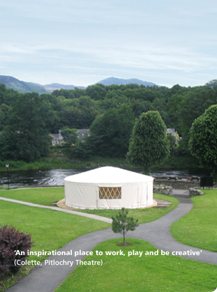 Yurts for sale or hire